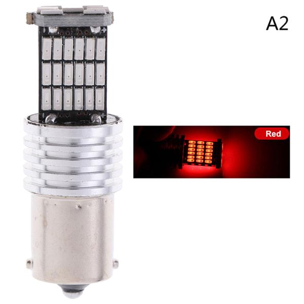 4014 45-smd led 12v 24v 1156 ba15s billampor blinkers omvänd A2