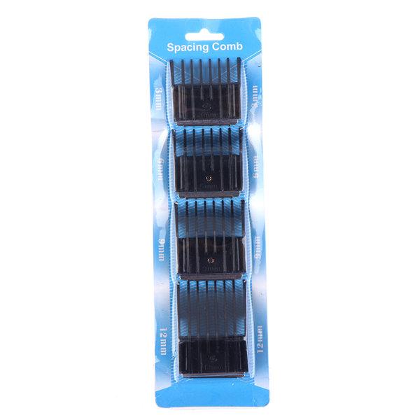 4st justerbar elektrisk hårklippare guide begränsa kamskärning
