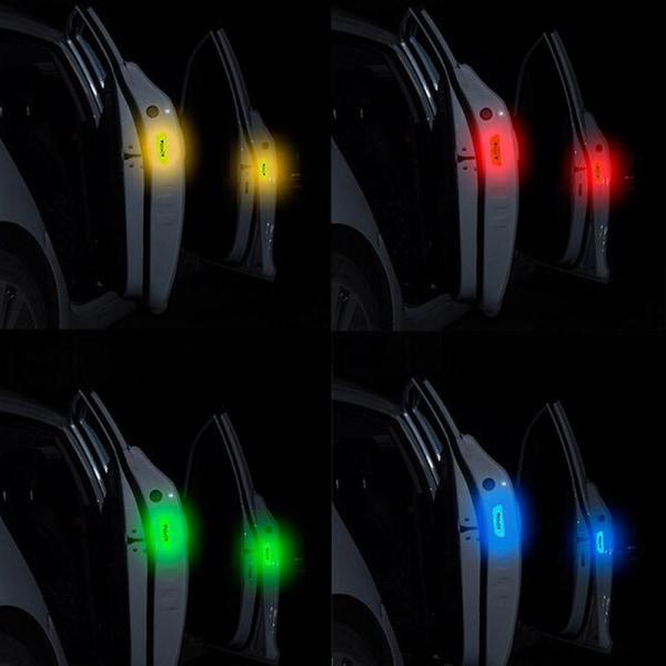 4x bildörr öppen klistermärke reflekterande tejp varning säkerhet auto de