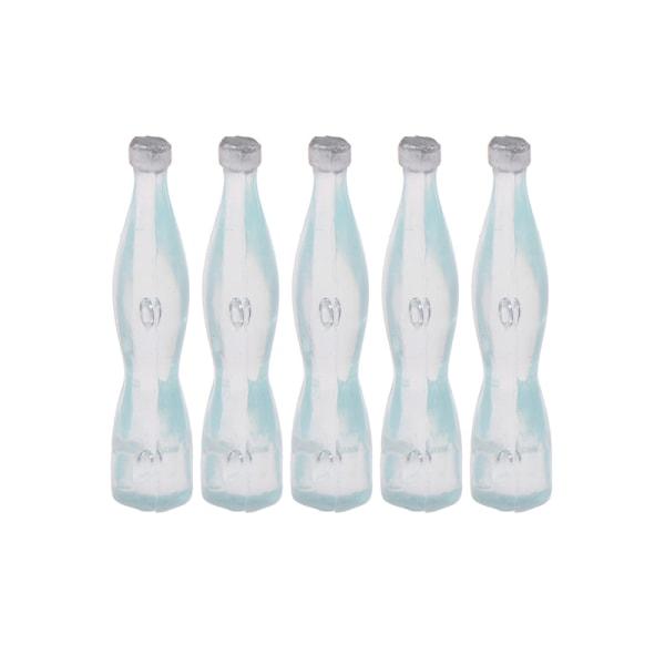 5st 1:12 dockhus miniatyr simulering dryck flaska vatten