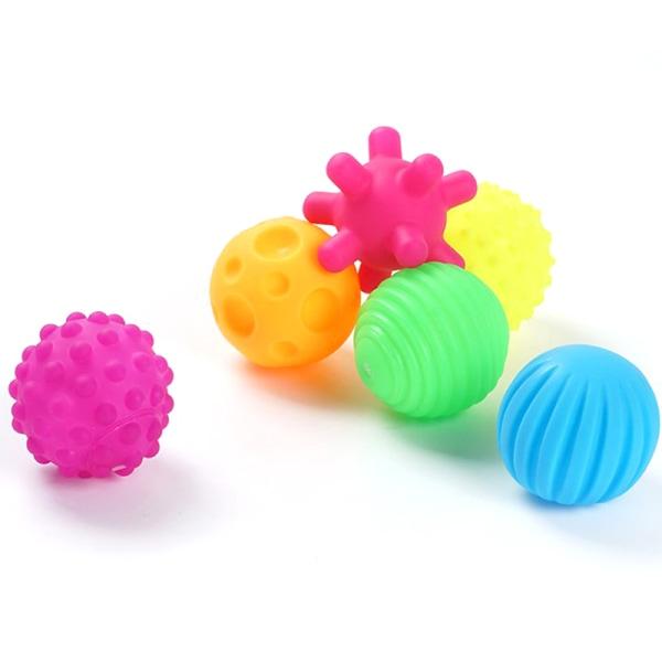 6st baby ball set utveckla barns taktila sinnen leksak touch hand A6