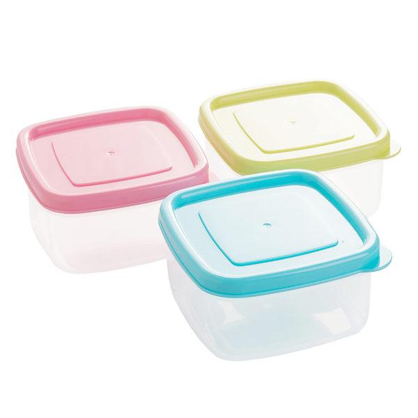 3*Mini förvaringslåda med lock uppsättning behållare lufttätt kök
