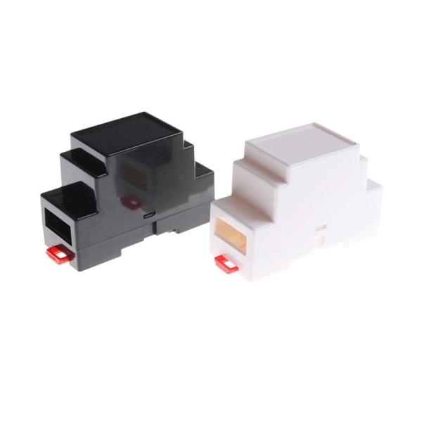 88 * 37 * 59mm Plastelektroniklåda Projektfodral DIN Rail Juncti