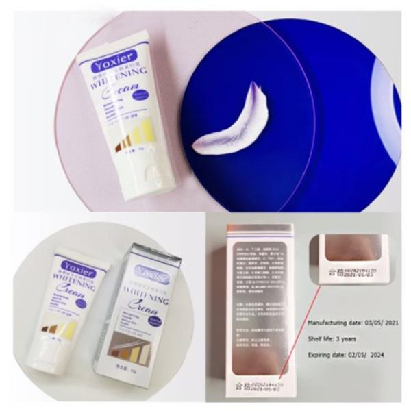 Whitening Cream Moisturizing Nourish Repair Förbättrar kroppens hud C White