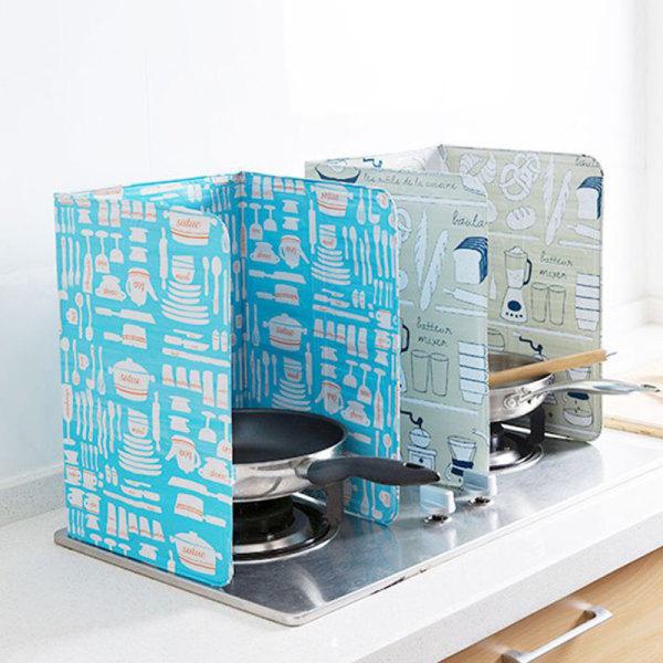 Anti Splatter Aluminiumfolie Matlagning Isolerad Proof Baffle Plat