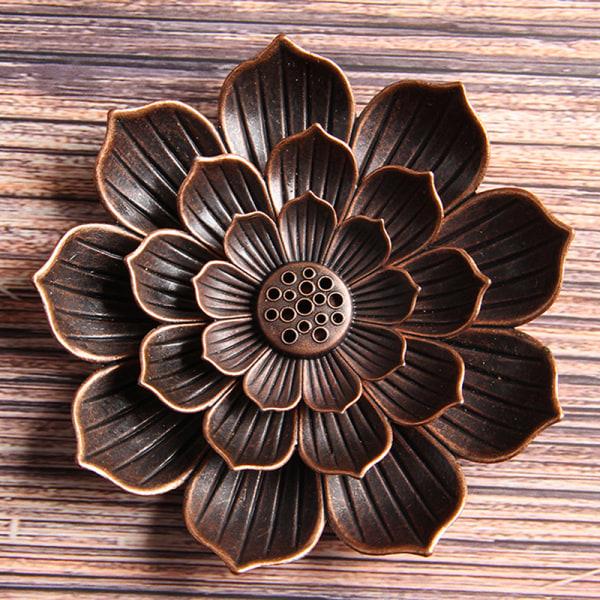 Backflow Incense Burner Stick Incense Holder Hem Buddhism Lotu