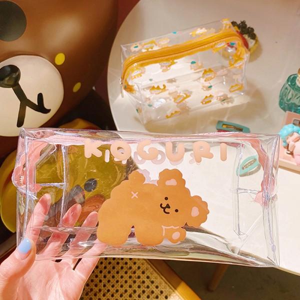 bärbar pvc kosmetisk väska utomhus resväska vattentät tvättväska C