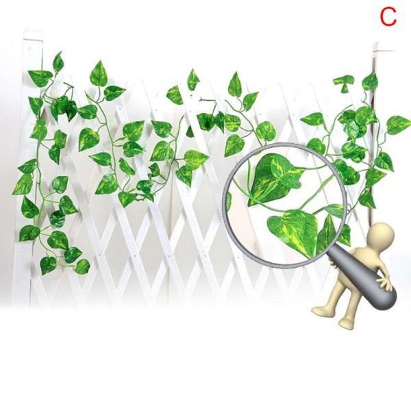 bästa konstgjorda murgröna efterföljande vinstockar falska lövverk blomma hängande le C
