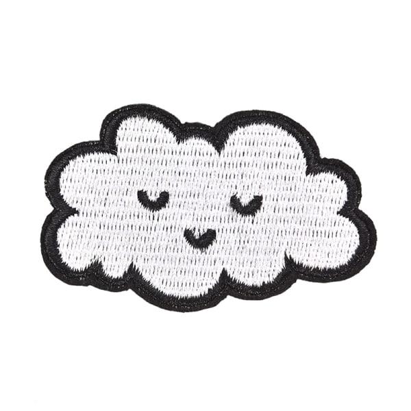 molnplåster för klädjärn på broderad sömnad