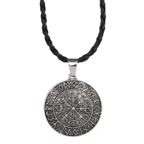 Cool Fashion Viking Scandina Compass Pendant Odin '' 's Symbal O