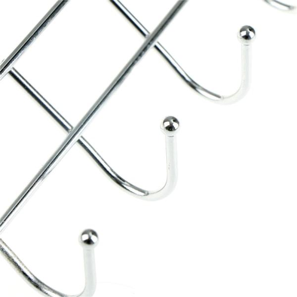 Kreativ hängare med 5-krokhandduk hattrockrock Klädskåp Rita