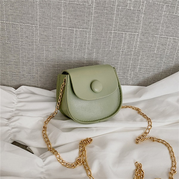 Söt liten flicka Mini Bag Handväska Barn Liten Mynt Plånbok Pou