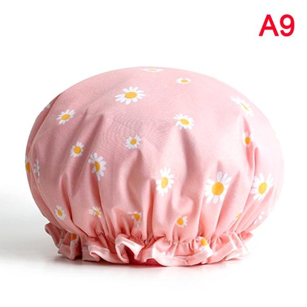 duschöverdrag hatt dubbla lager levererar vattentätt tjockt badrum A9