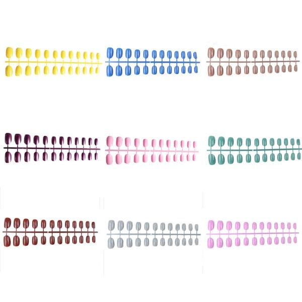 False Nails Stickers Konstgjorda falska nageltips