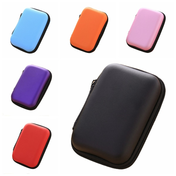 Fashion Headset Protect Carry Hard Case Bag Storage Box Headpho