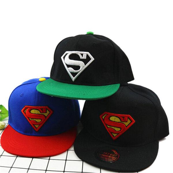 Mode Barn Flickor Pojkar Superman Snapback Baseball Cap Barn