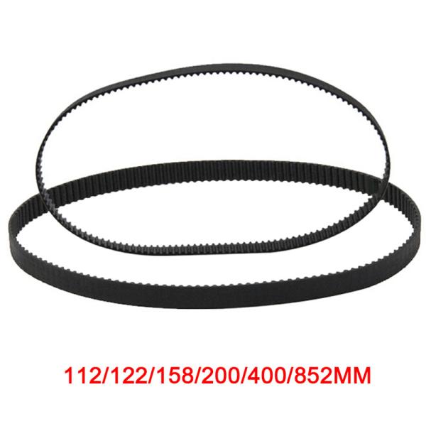GT2 Ring stängd ögla kuggrem 2GT 6mm 3D-skrivare par