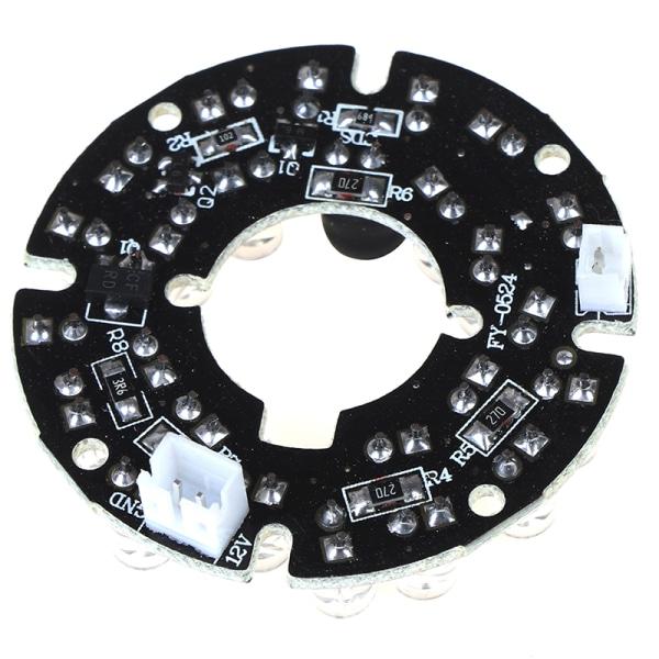 Infrarött ljus 24 Grain 850nm IR LED-kort för övervakningskamera