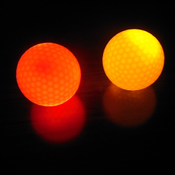 Tänds Blinkande Nattlampa Glödande fluorescens Golfboll Go