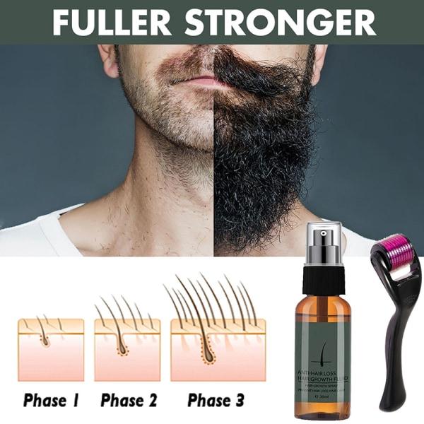 män skägg tillväxt roller kit olja närande förstärkare björn B