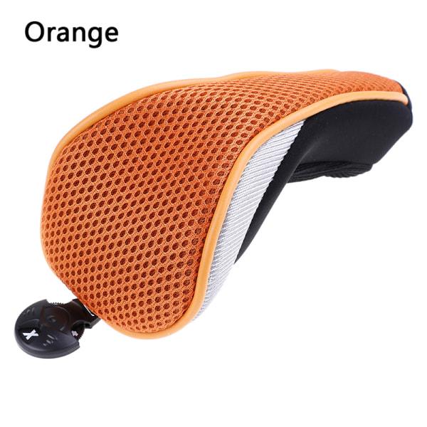 Mesh Golf Headcover Premium Golf Club Rescue Head Covers Hybrid