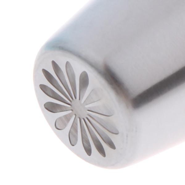 munstycken i rostfritt stål som silikon bakverk påsar DIY kaka dekor B