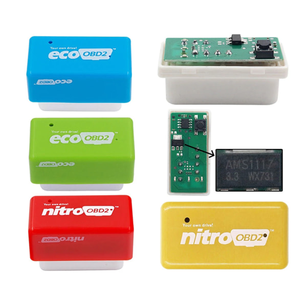 OBD2 Full-chip Nitro OBD2 Plug and Play OBDII Power Upgrade Fue