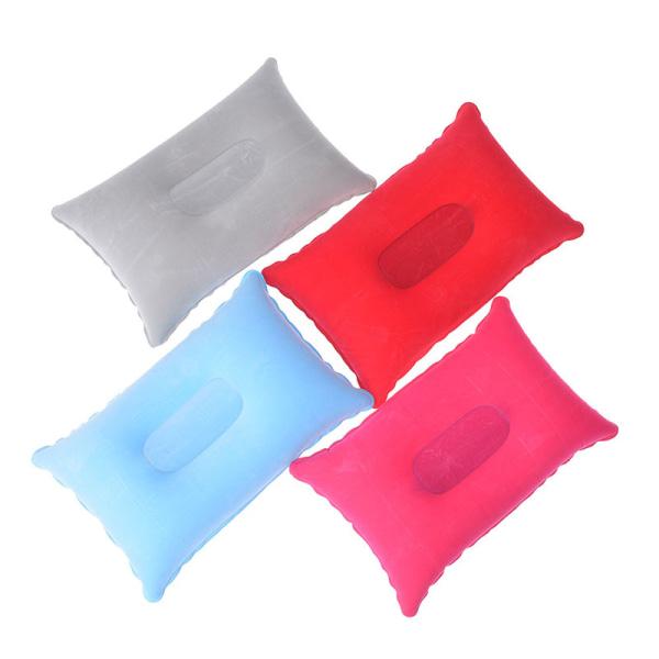 utomhus bärbar fällbar luft uppblåsbar kudde dubbelsidig flo