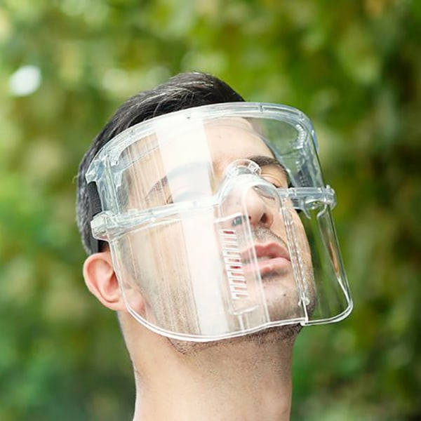 Skyddsglasögon Ansiktsskärm Helt sluten okular Anti-dimma