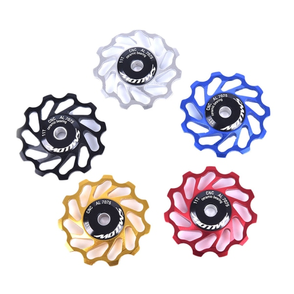 Road Bike Ceramic Pulley Derailleur 11T Guide Wheel Ceramic Bea