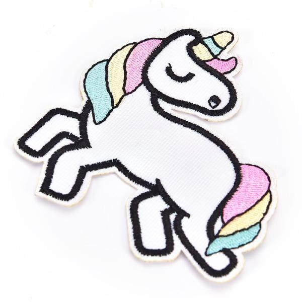 Sequin Unicorn Horse Comics Cartoon Symbol Jacket T-shirt Patch