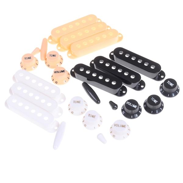 Enkel spole pickup lock kontroll knopp brytarspets set för el
