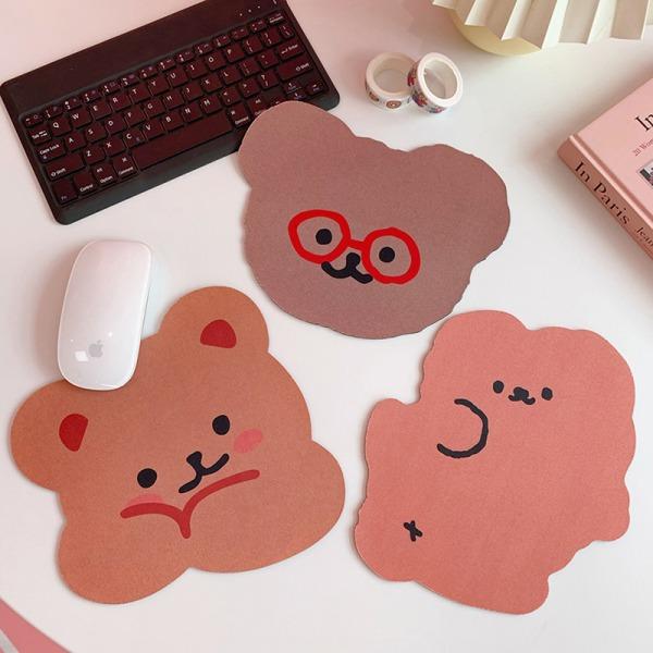 söt björn musmatta skrivbord stora mattor pad vattentätt kontor c A