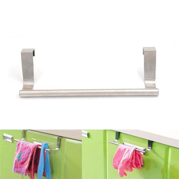 Rostfritt stål kök badrum krok dörr handdukshållare Cupboar