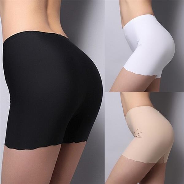 Summer Lady Seamless Safety Shorts Leggings Byxor Fri storlek