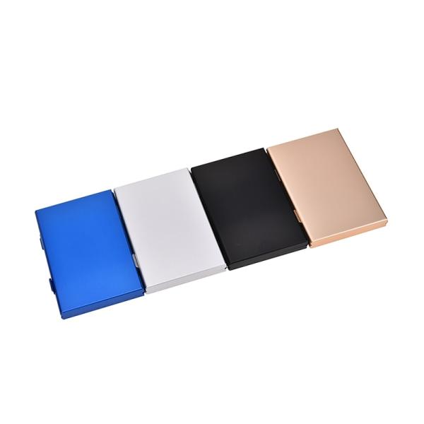svart aluminium minneskort förvaringslåda hållare för 24 tf mikrofon