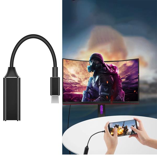 Typ C till HDMI-kabelomvandlare 4K USB 3.1 30Hz HD Extend Adapte
