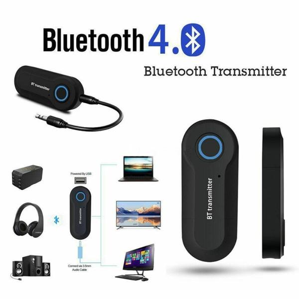 USB Bluetooth stereoljudsändare 3,5 mm musikdongel Anpassad