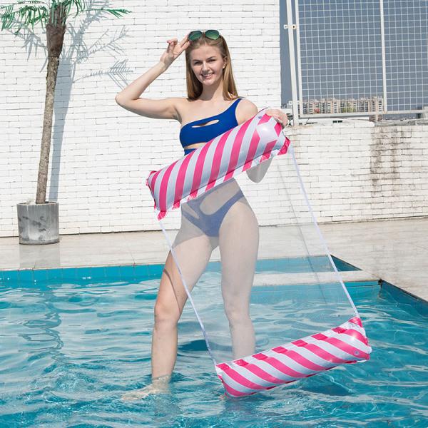 vatten hängmatta fåtölj uppblåsbar simbassängmadrass F