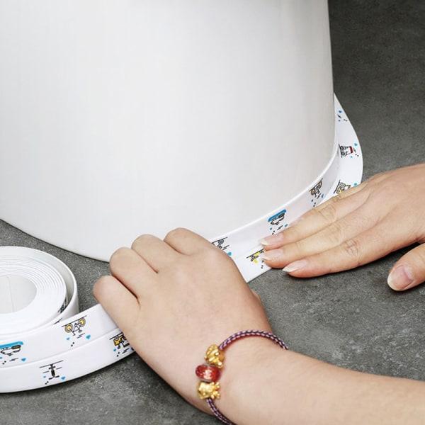 vattentät pvc självhäftande väggdekal badrum handfat badmyra F