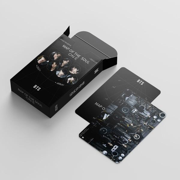 Bangtan Boys LOMO-kort 54st Albumkarta över The Soul One Cards flerfärgad