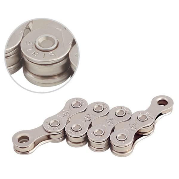 MTB cykelkedja 6-7-8 / 9/10/11 hastighet galvaniserad Silver 6/7/8 Hastighet