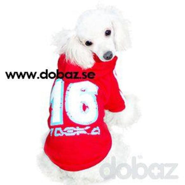 Hooded T-shirt Röd Röd XL
