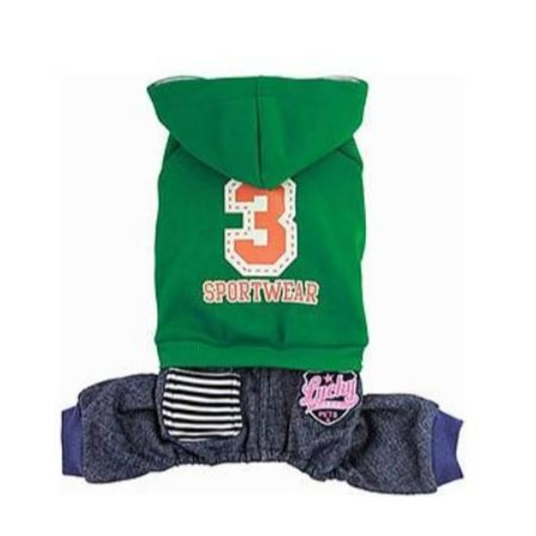 Jumpsuit Number 3 Green S