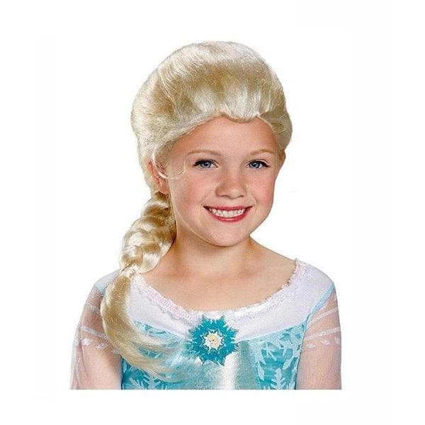 Anna Frozen Peruk för barn Ljusbrun one size