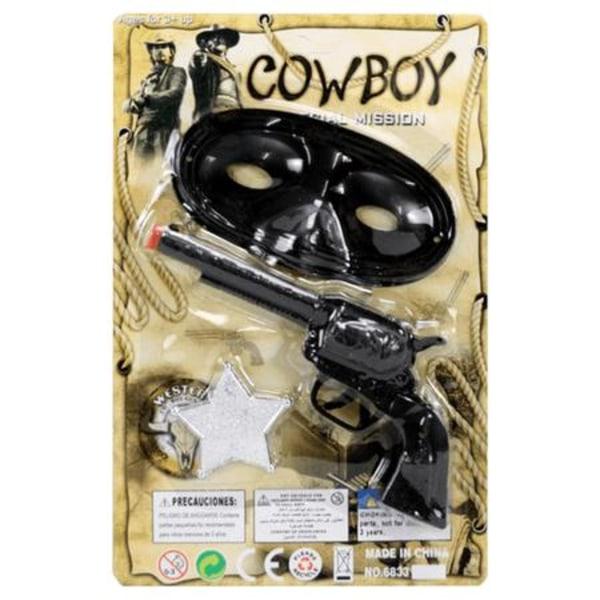 Cowboy set multifärg one size