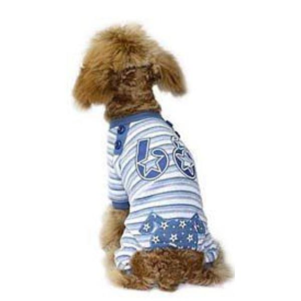 Hundoverall Star 68 Blå Blå XS