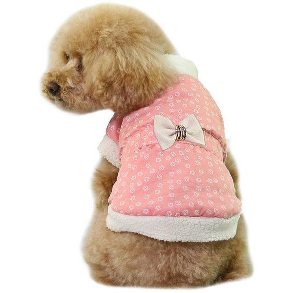 Hundjacka Rosa Pink XS