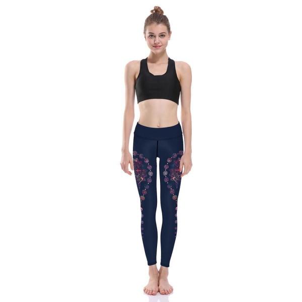Mandala Yoga Leggings MultiColor XXXXL