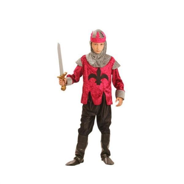 Renässans Kung Riddare Barn Maskeraddräkt Red S